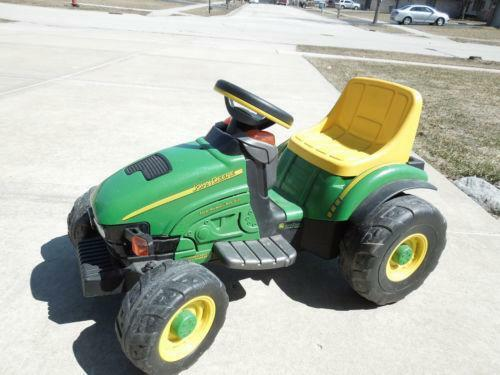 peg perego john deere tractor ebay. Black Bedroom Furniture Sets. Home Design Ideas