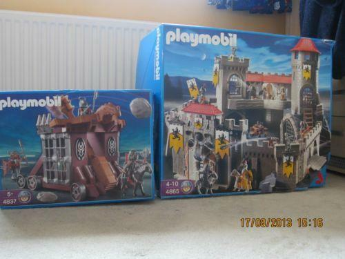 playmobil castle 4865 ebay. Black Bedroom Furniture Sets. Home Design Ideas