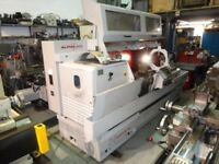 HARRISON ALPHA MODEL 550 PLUS SEMI CNC TEACH LATHE YEAR 1997