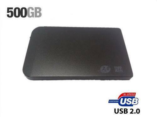 external usb hard drive 500gb ebay. Black Bedroom Furniture Sets. Home Design Ideas