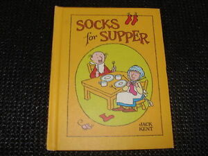 Socks For Supper-Children's Vintage HC book