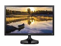"""LG 23MP67VQ 23"""" IPS LED Super-Slim Design Monitor (1920x1080, VGA, DVI, HDMI)"""