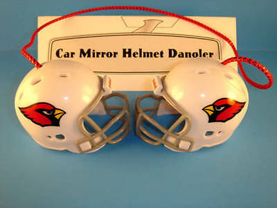 ARIZONA CARDINALS CAR MIRROR FOOTBALL HELMET DANGLER - HANG FROM ANYTHING!