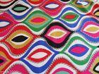 Batik, Hand-Dyed Quilting Craft Fabric Samples, Scraps