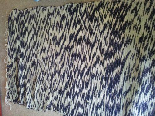 Striped Cotton Rug Ebay