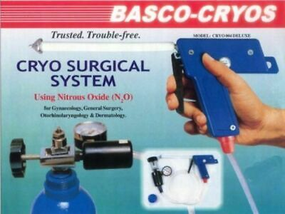 Cryo System For Gynaecology Ent Dermatology Basco Branded Cryo Unit