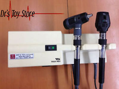 Welch Allyn Diagnostic Otoscope Opthalmoscope Set