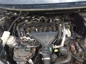 2.0 Tdci Compl Ford S/max Galaxy Focus C/max Mondeo Engine 06 /2010 Breaking