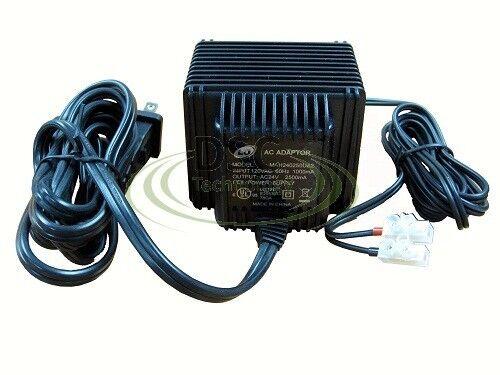 24 Volt AC Power Supply Wall Plug Transformer 60 Watts 24v 2500ma