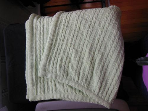 Amy Coe Green Blanket Ebay