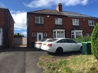 *B.C.H* 3 BED SEMI DETACHED HOUSE-ROWLEY REGIS, OLDBURY ROAD-located next to the M5 Motorway