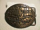 Frontier Brass Belt Buckles for Men
