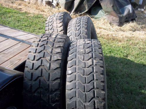 Military Surplus Tires Ebay