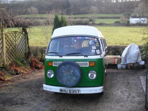 VW Campervan Devon