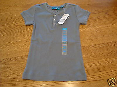 The Childrens Place girls S 5/6 ribbed youth T shirt NWT ^^
