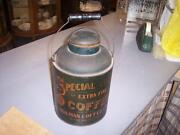 Antique Coffee Tin