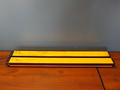Sti Ms46-30-700-r-fn Ms46-30-700-x Used Mini Safe Safety Light Curtain Set