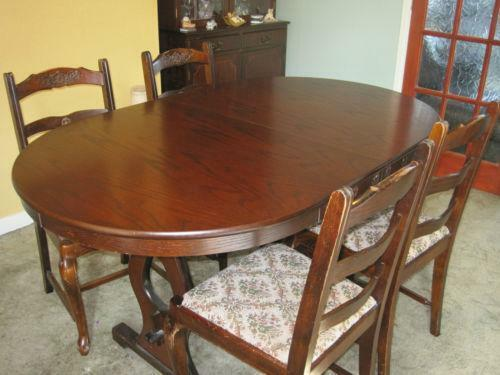 Oval Extending Dining Table Ebay