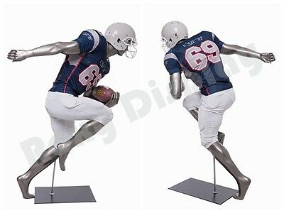 Male Fiberglass Sport Athletic Style Mannequin Dress Form Display Brady10-mc