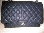 Chanel Black Caviar Handbag