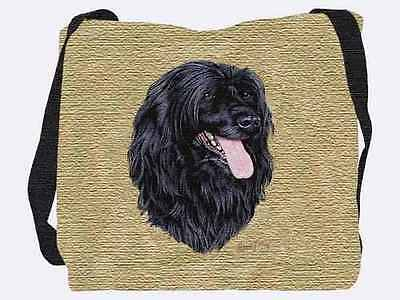 Woven Tote Bag - Portuguese Water Dog 3379 IN STOCK