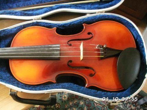 violin made in germany ebay. Black Bedroom Furniture Sets. Home Design Ideas