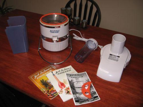 Jack Lalanne Power Juicer Pusher ~ Jack lalanne power juicer ebay