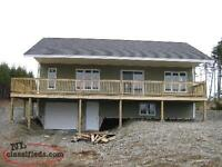 Cabin/house for sale Brigus Junction ON POND!!