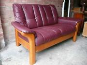 Used Leather Settees