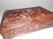 Vintage Wooden Candy Box