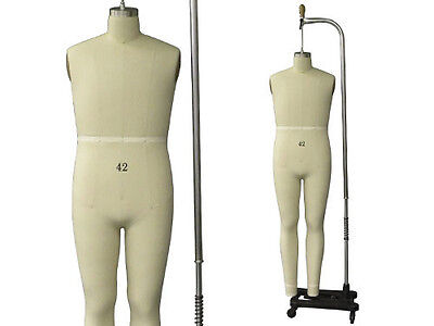 Professional Pro Male Working Dress Formmannequinfull Size 42 Wlegs