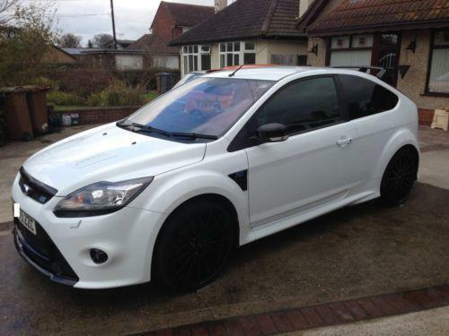 ford focus rs white ebay. Black Bedroom Furniture Sets. Home Design Ideas