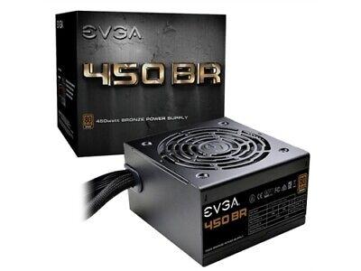 EVGA Power Supply 100-BR-0450-K1 450 BR 450W 80+BRONZE 12V PCI Express 120mm
