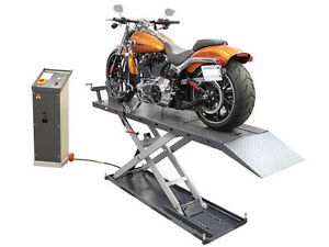 ATLAS EML-1200 - ELECTRIC MOTORCYCLE LIFT - CLENTEC