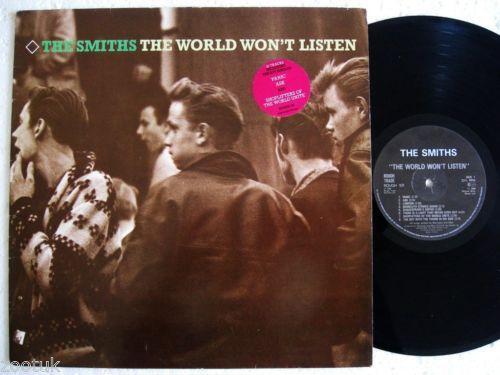 The Smiths The World Won T Listen Ebay