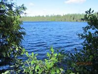 39 acres on small Julia lake 3 km E of Kirkland Lake, crown land