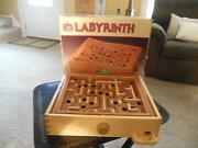 Labyrinth Game Vintage