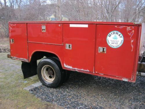 Utility Truck Beds For Sale >> Utility Bed Ebay