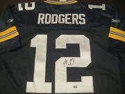 Aaron Rodgers Signed Jersey