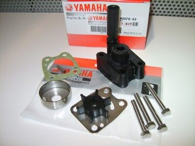 Water Pump Impeller Repair Kit with Housing ~ Yamaha Mariner 4HP 5HP Outboard, used for sale  Shipping to Ireland