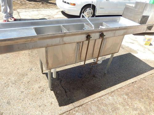 Used Stainless Steel Sink eBay