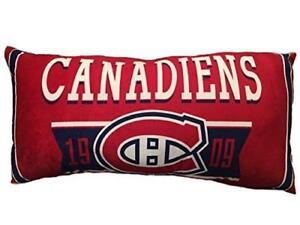 "NHL Body Pillow - Montreal Canadiens Ultra Soft 18"" x 36"""