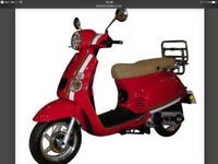 50cc scooter monza 13 reg good con plus extras new battery