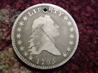 Flowing Hair Silver US Early Half Dollar Coins (1794-1839)