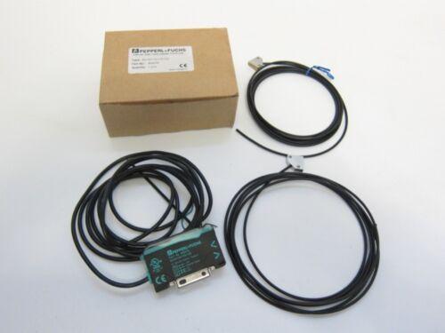 New Pepperl + Fuchs 805076 SU19/110/115/123 Fiber Optic Sensor