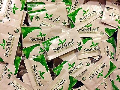 Sweet Leaf Sweetener Organic Stevia 70 Count BULK PACKETS