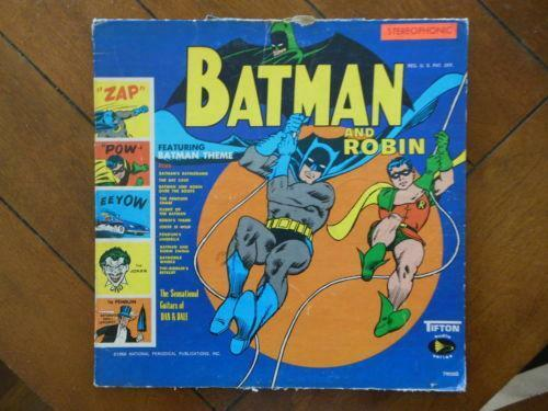 Batman And Robin Lp Records Ebay
