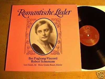 ILSE FUGLSANG-VISCONTI - ROMANTISCHE LIEDER  -  LP  (2)