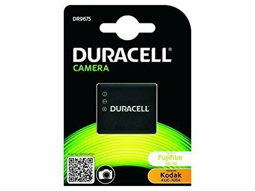 Duracell Dr9675 Lithium-ion Rechargeable Camera Battery Replaces Klic-7004