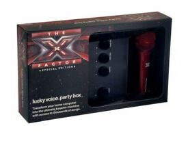 X Factor Lucky Voice Party Box (Special Edition)